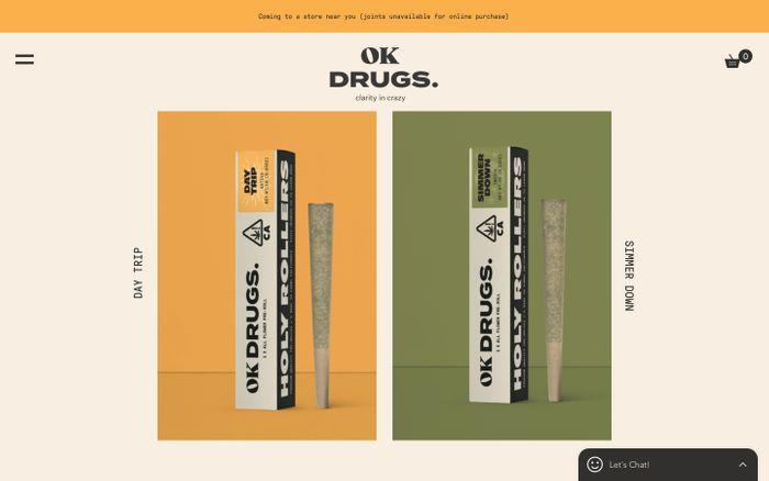 Screenshot of Ok Drugs