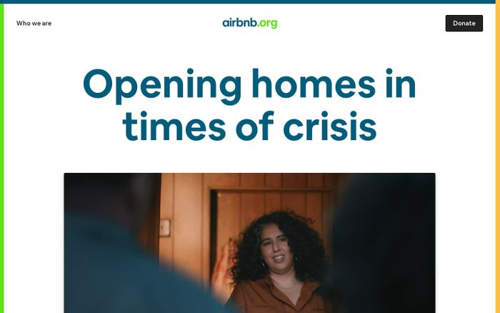 Screenshot of Airbnb.org