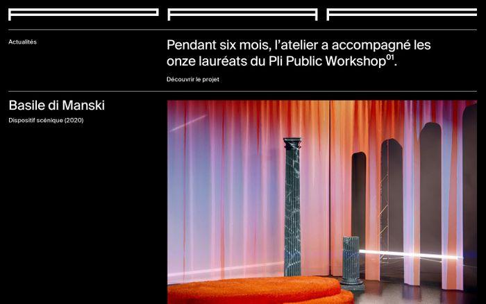 Screenshot of Paf atelier