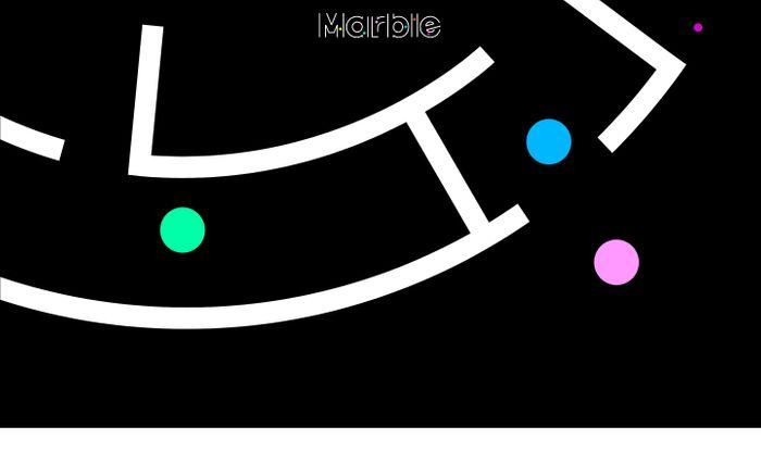 Screenshot of Marble
