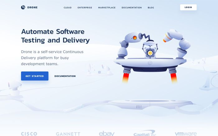 Screenshot of Drone CI – Automate Software Testing and Delivery