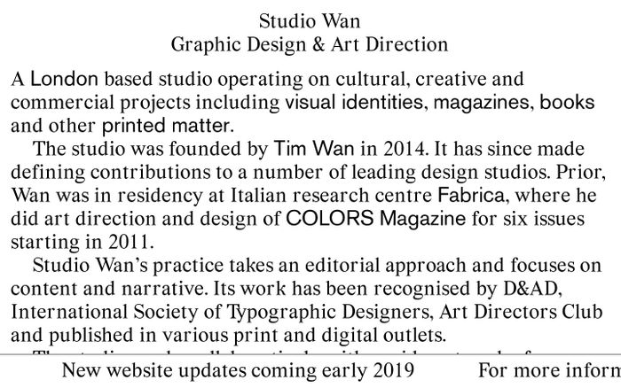Screenshot of Studio Wan