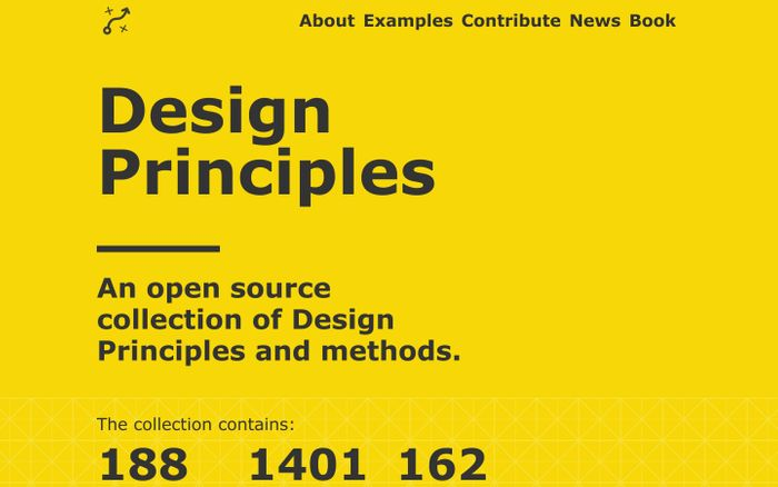 Screenshot of Design Principles