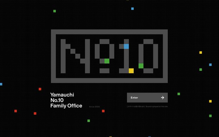 Screenshot of Yamauchi No.10 Family Office website