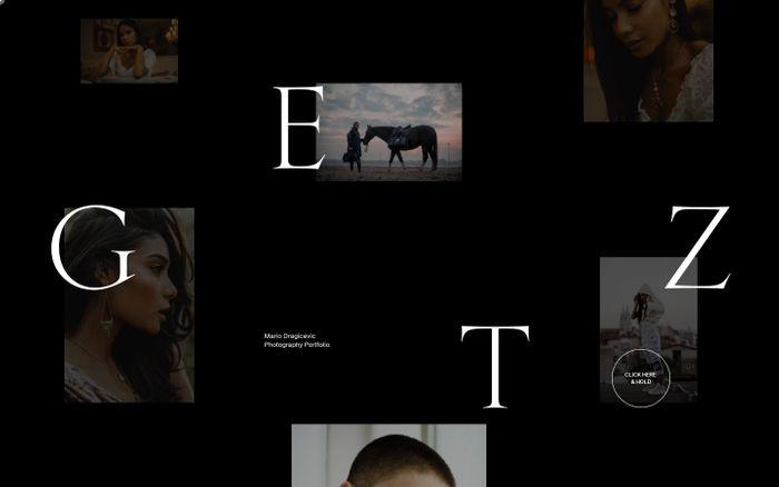 Screenshot of GETZ Photography & Videography — Mario Dragičević