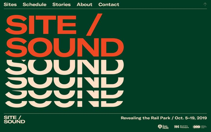 Screenshot of Site/Sound – Revealing the Rail Park / Oct. 5–19, 2019