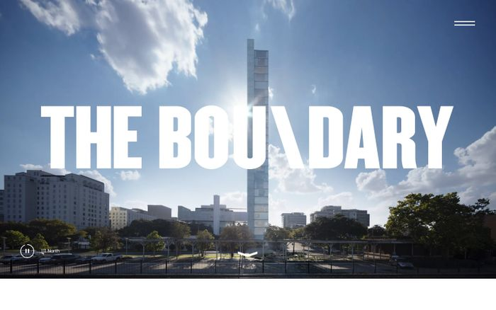 Screenshot of The Boundary - Architectural Visualisation London / NYC