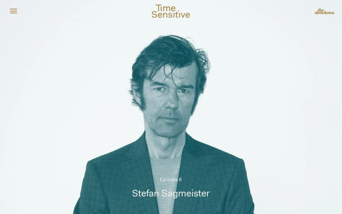 Screenshot of Time Sensitive: A Podcast Featuring Leading Minds on Time