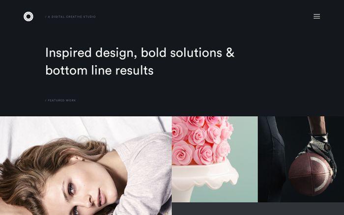 Screenshot of Concentric   A Digital Creative Studio