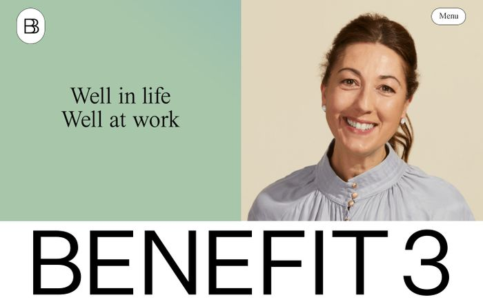 Screenshot of Benefit3 website