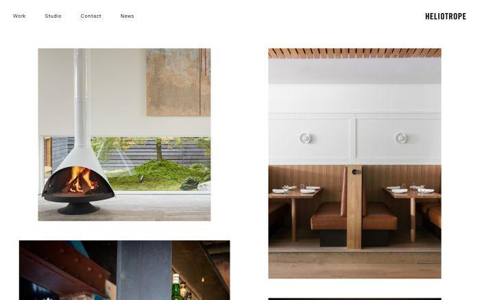Screenshot of Heliotrope | Home